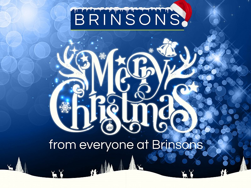 Merry Christmas from everyone at Brinsons