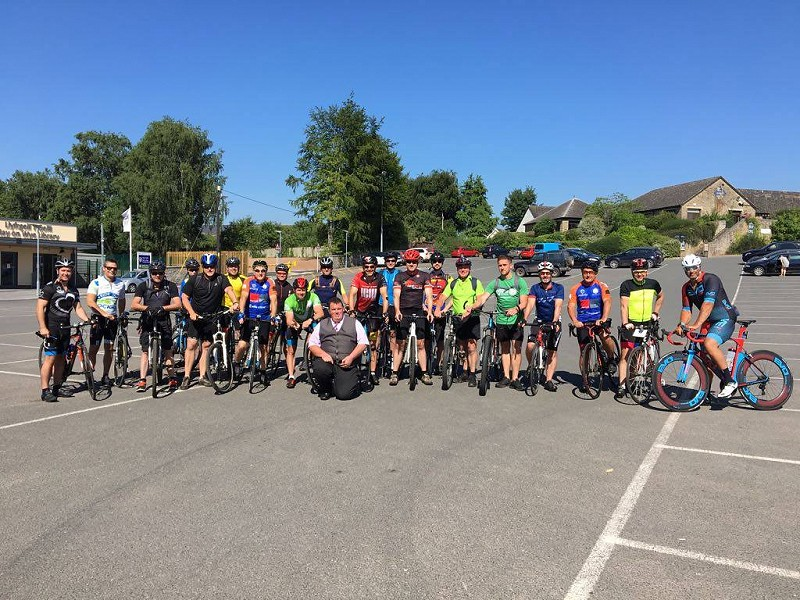Charity bike ride is a huge success