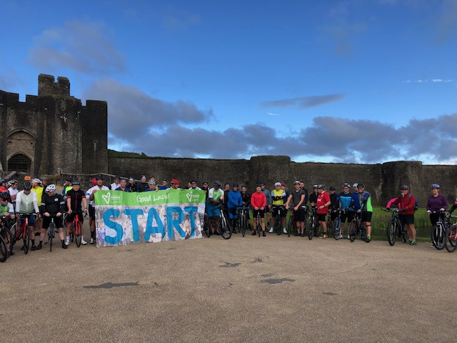 Trevor's Bike Ride Fundraising Success