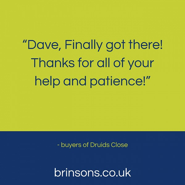 Great feedback for Brinsons!